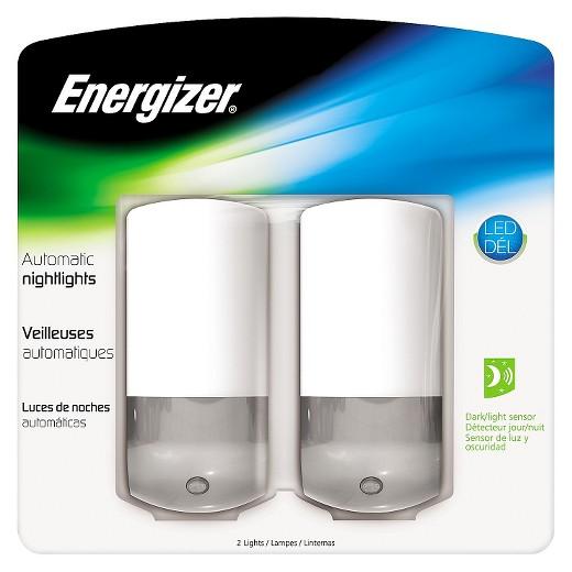 $5 BUCK DEAL - 2 Pack of Energizer Auto Design LED Slim Nightlights ...