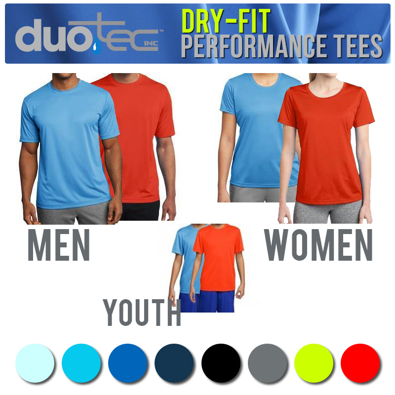 Duo Tec Dry-Fit Performance Te...