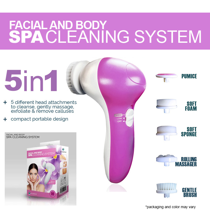 5-in-1 Facial and Body Spa Cle...