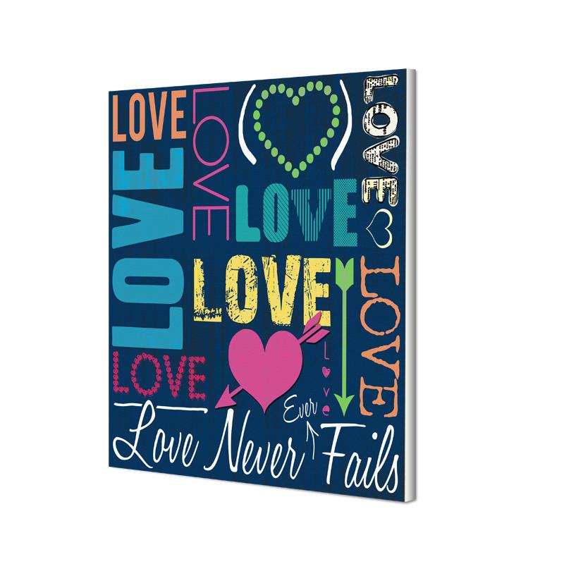 Love-Never-Fails-Canvas-Print