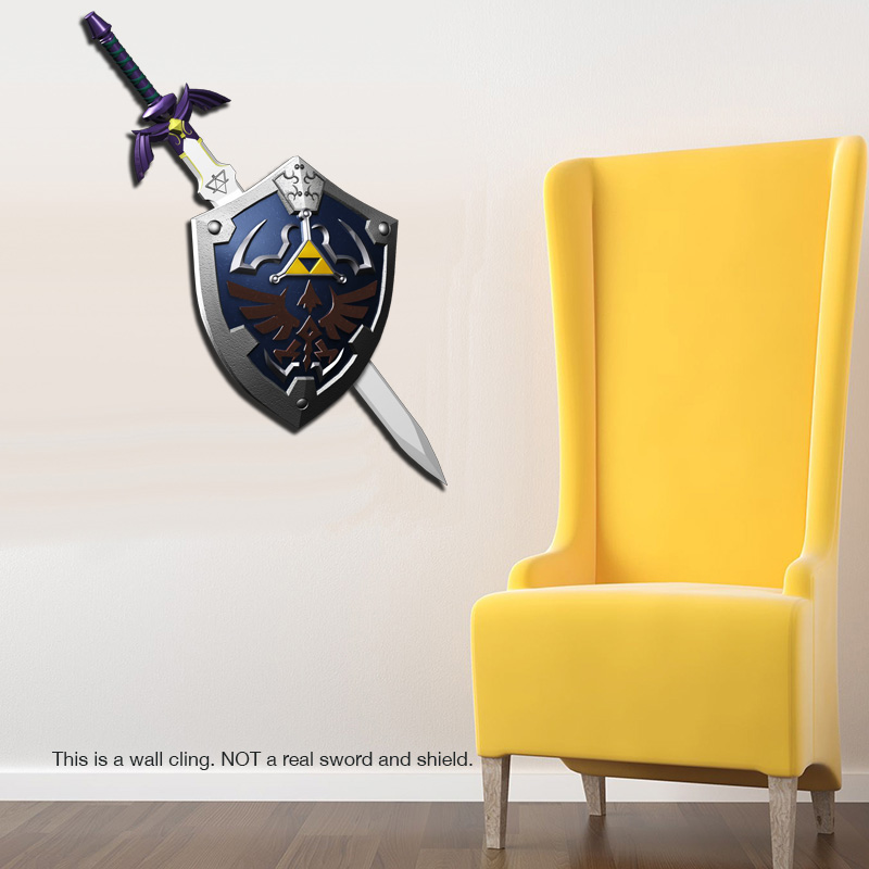 Legend-of-Zelda-Master-Sword-and-Hylian-Shield-Wall-Cling