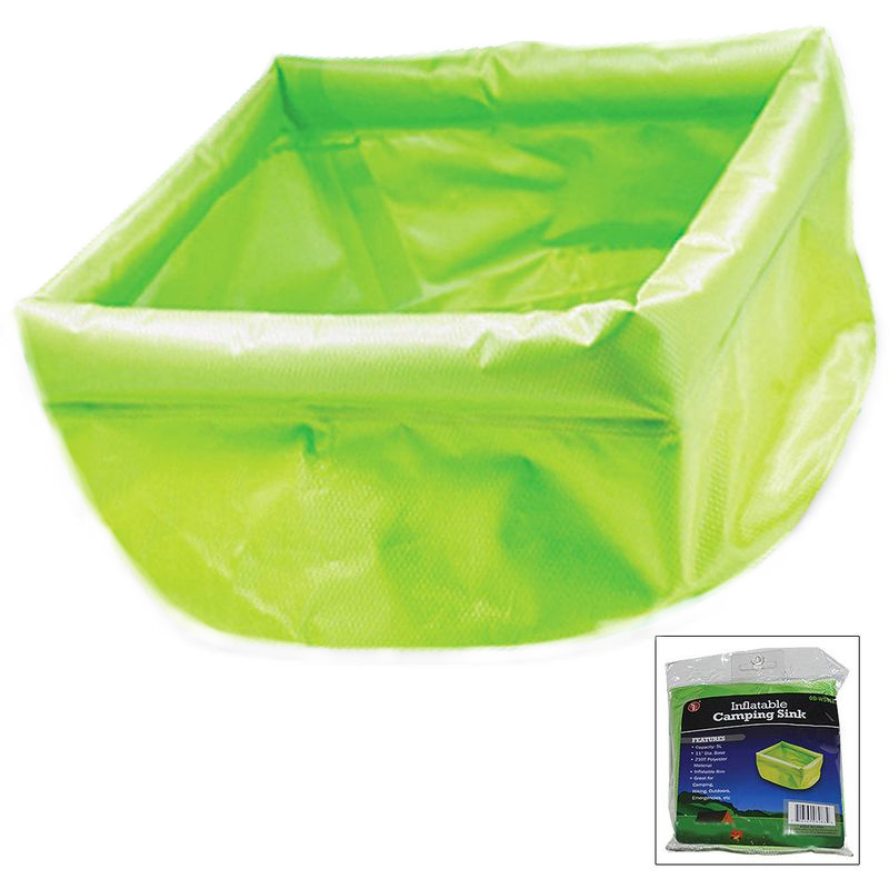 11 Quot 5 Liter Inflatable Camping Sink 1 For 8 Or 2 For