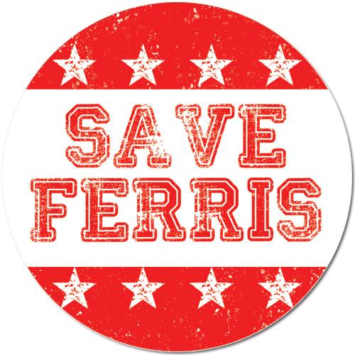 Save Ferris Vinyl Decal Ships Free 13 Deals