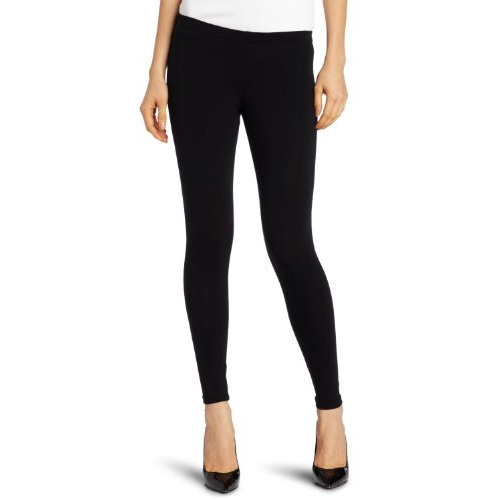 Tru-Fit-Black-Ankle-Length-Lightweight-Fashion-Leggings