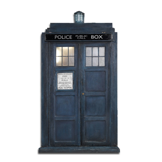 Doctor Who Inspired Tardis Police Box Available As A