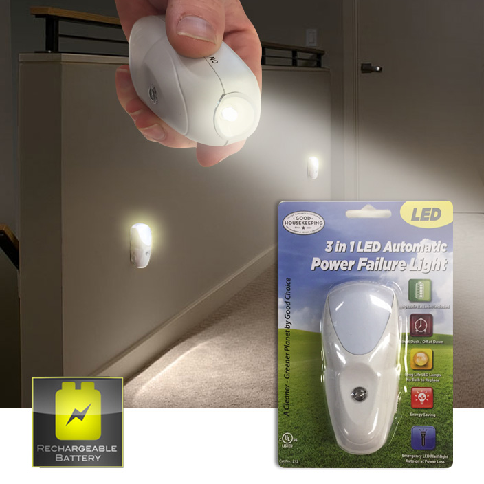 3-IN-1-Automatic-Power-Failure-Light-with-Recharging-Battery-and-Flashlight-Feature