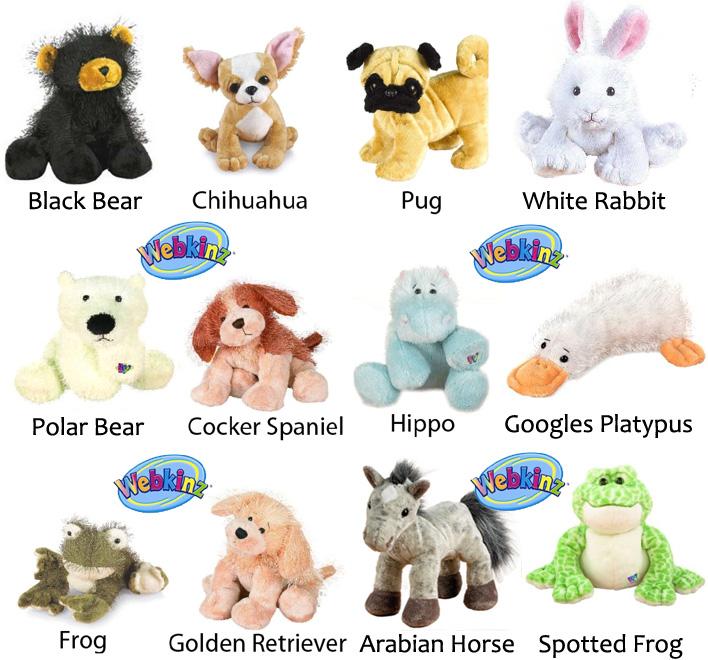 Webkinz Plush Pets 12 Pack Bundle 13 Deals