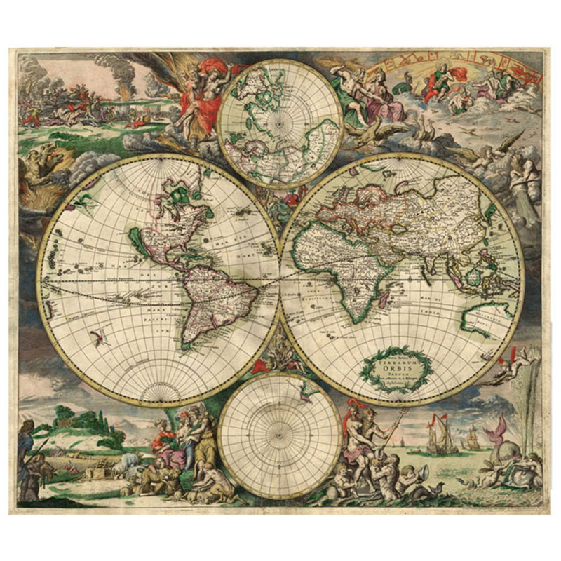 17th-Century-Full-Color-World-Map-by-Cartographer-Joan-Blaeu