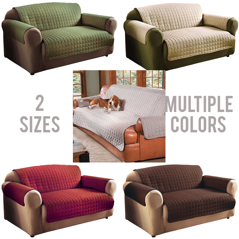 Quilted Microfiber Furniture P...