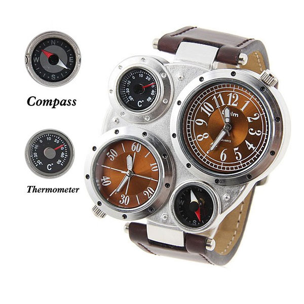 Adventure Watch with Analog Functions