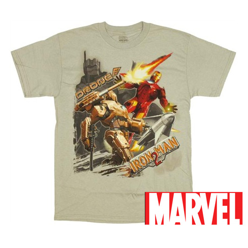 Officially-Licensed-Marvel-Iron-Man-2-Drone-T-Shirt