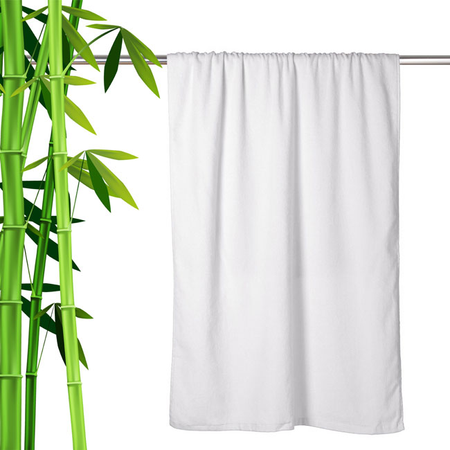 Extra-Large-Luxurious-Bamboo-Towel-With-Lounge-Pocket