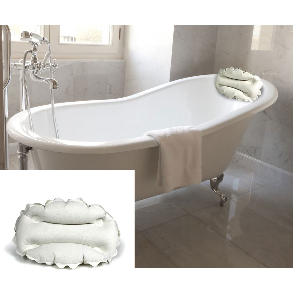 Body Luxuries Spa Bath Inflatable Pillow - SHIPS FREE! - 13 Deals