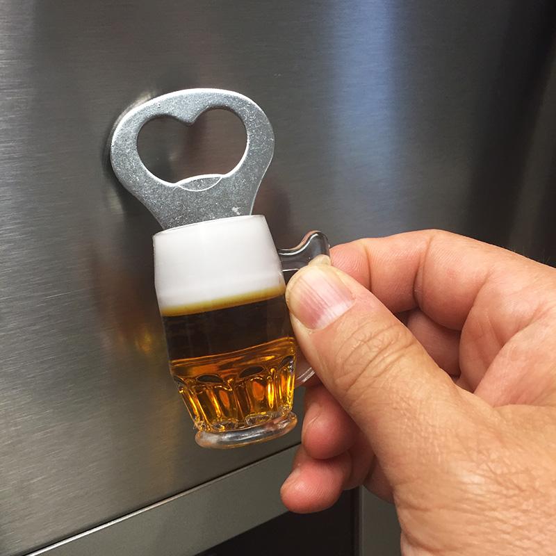 Beer mug bottle opener fridge magnet 13 deals - Beer bottle opener fridge magnet ...