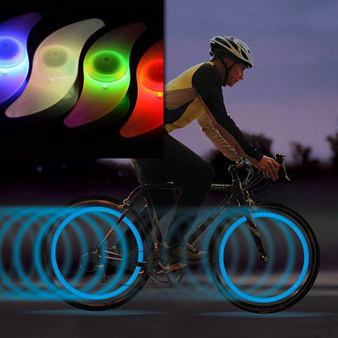 2 Pack of Bike Spoke Lights $4...