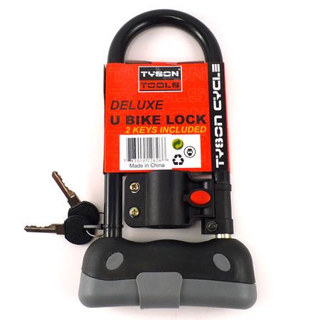 how to cut a u shaped bike lock