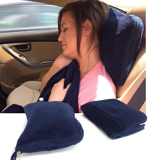 Micro-Plush-Travel-Pillow-and-Throw-Set