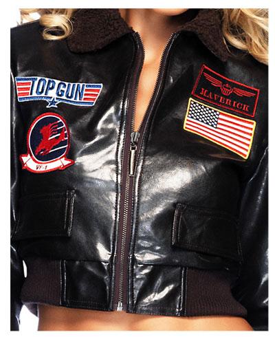 Top Gun Womens Costume W Bomber Jacket Size Medium 13 Deals
