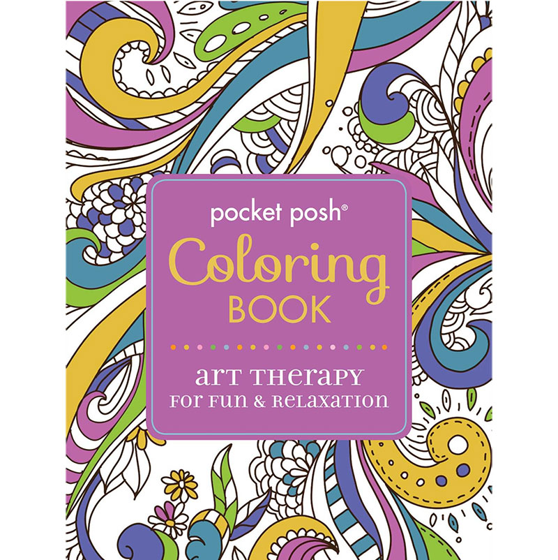 Posh Adult Coloring 5 Book Set