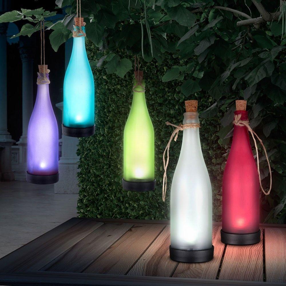 LED Solar Hanging Garden Bottl...