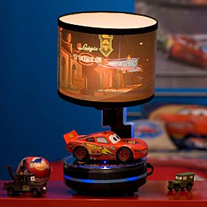 Disney Animated Lightning McQueen Cars Lamp   13 Deals