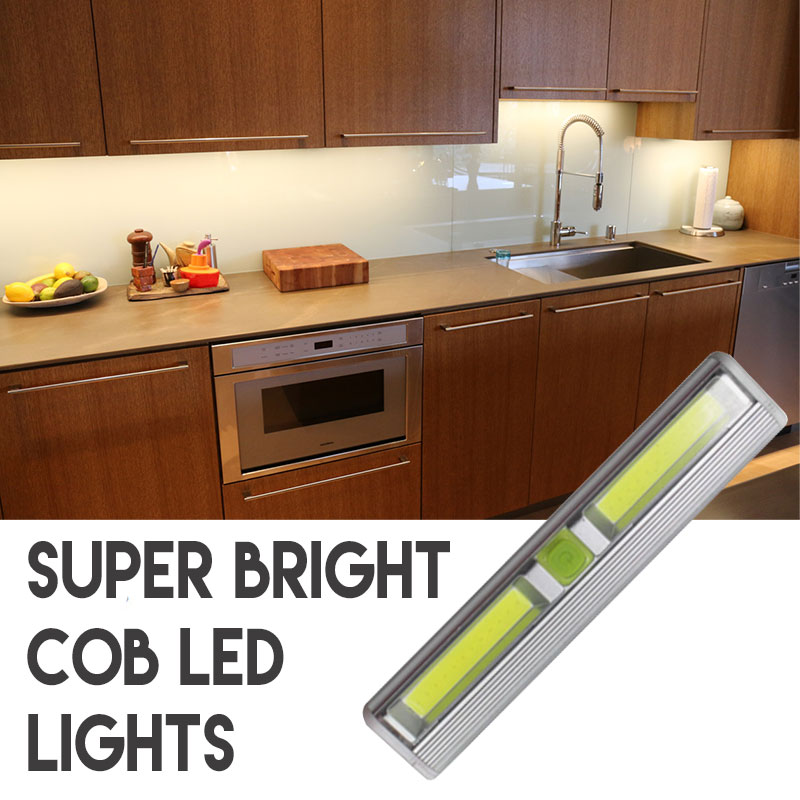 Cabinet lighting 6 Puck Lights Wireless Super Bright Cob Led Tap Light Perfect For Under Cabinet Lighting And More Batteries Included 6 And Price Drops To 489 Each 13deals Wireless Super Bright Cob Led Tap Light Perfect For Under Cabinet