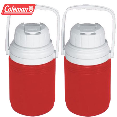 2 -Pack of Coleman 1/3 Gallon Insulated Jug Coolers