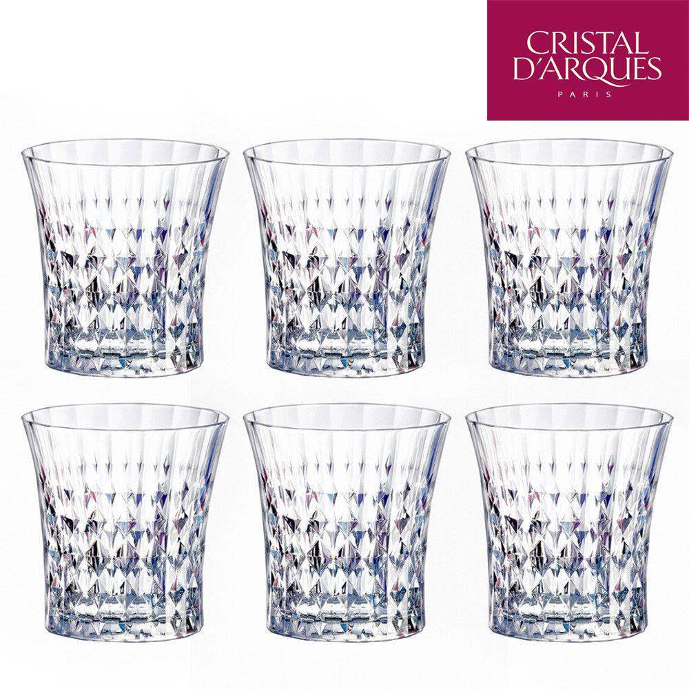 Cristal Darques Lady Diamond.13 Deals Set Of 6 Cristal D Arques Lady Diamond Diamax Old