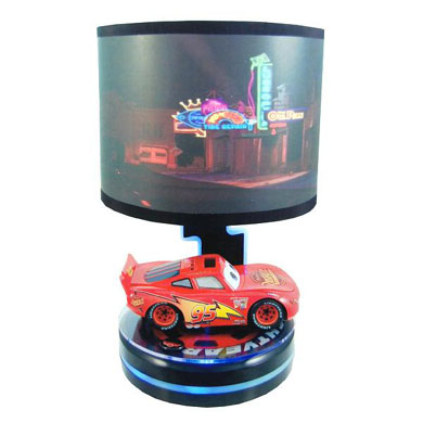 Disney animated lightning mcqueen cars lamp 13 deals mozeypictures Image collections