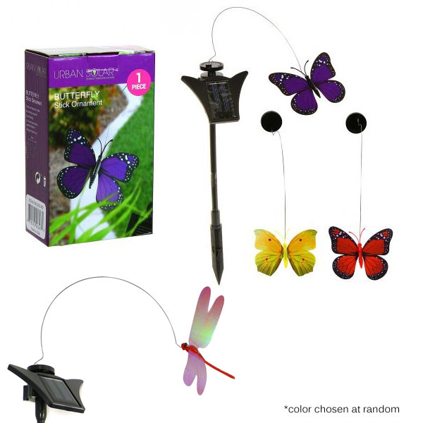 Solar Powered Flying Butterfly...