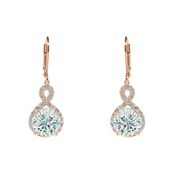 6f74ff471c2d9 Infinity Crystal Drop Earrings Made with Swarovski Crystals by ...
