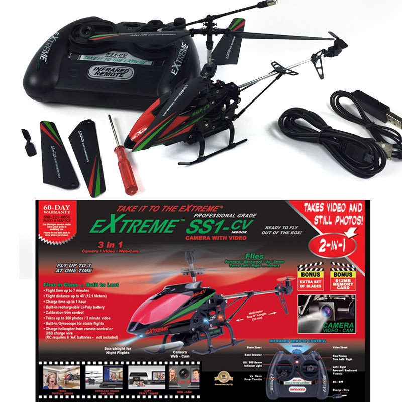 Extreme R/C Drone Helicopter with Camera and Video – $29.99 ships free by Jammin Butter