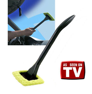 EZ Reach Microfiber Cleaning Wand - One for $4.49, Two for $8, or Three for $3.33 each! GREAT for Spring cleaning, and keeping in your car etc - SHIPS FREE!