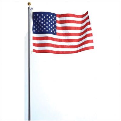16 Foot Telescoping Flag Pole With Flag 13 Deals