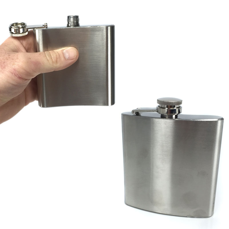 Stainless-Steel-Hip-Flask