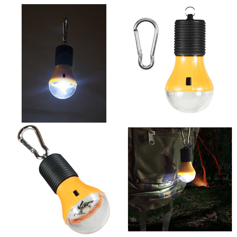 1 Watt Led Battery Operated Light Bulb With Carabiner
