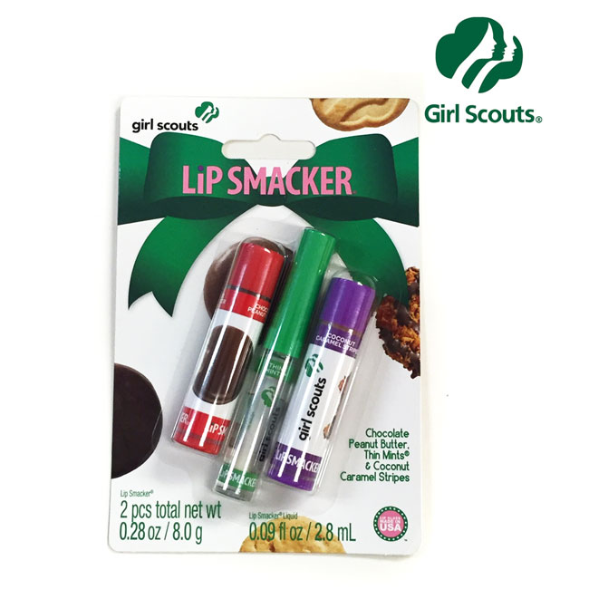 Girl-Scouts-Lip-Smacker-3-Piece-Set-Includes-Lip-Balm-and-Gloss-24699-Ships-Free