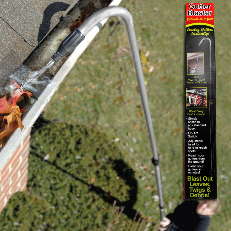 Gutter Blaster - All About Rain Gutters