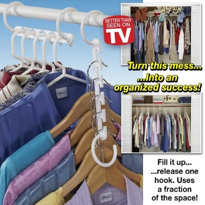 SHIPS FREE   10 Piece Super Hanger Closet System   Expand Closet Space  Instantly!   13 Deals