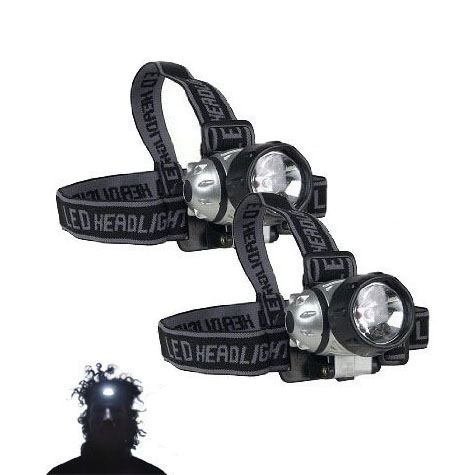 FREE – 2 Pack of Super Bright LED Head Lamps by Jammin Butter