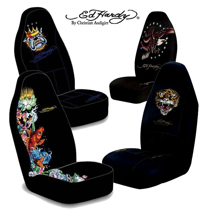 Ed Hardy Seat Covers For Cars Velcromag