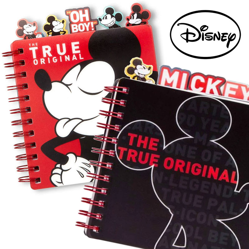 $8.99 (reg $17) Disney Retro Mickey Mouse 90th Anniversary 5-Tab Journal