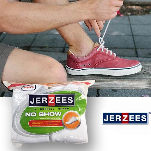 Jerzees-Mens-10pack-No-Show-Socks