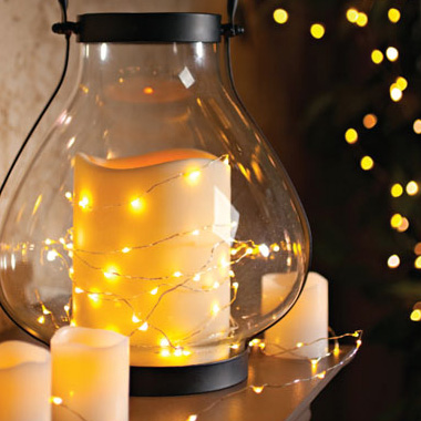 Wireless 10 Foot Waterproof Submersible Micro Led String Lights In Warm White Or Multi Color Order 6 For 4 99 Each Ships Free