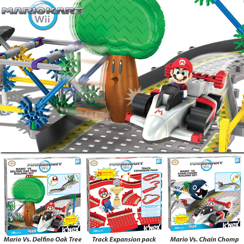 Mario Kart Wii Buildings Sets.