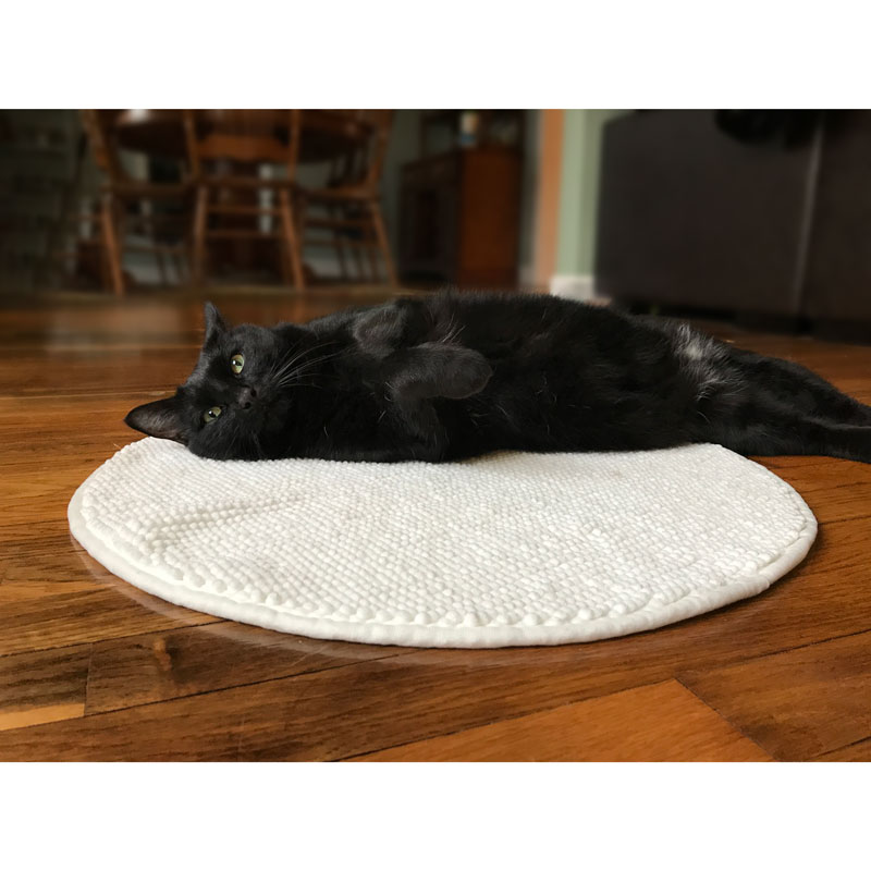 Round Cat Cuddle Mat - Made of...