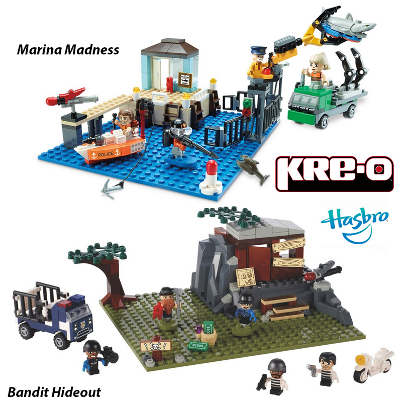 Kre-O-by-Hasbro-CityVille-Invasion-Bandit-Hideout-and-Marina-Madness-Sets