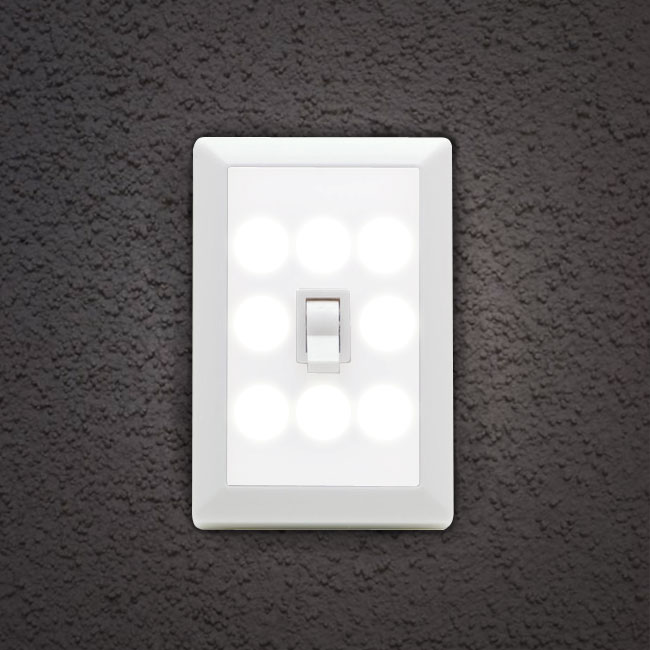 Wireless 8 LED Light-Switch Ni...