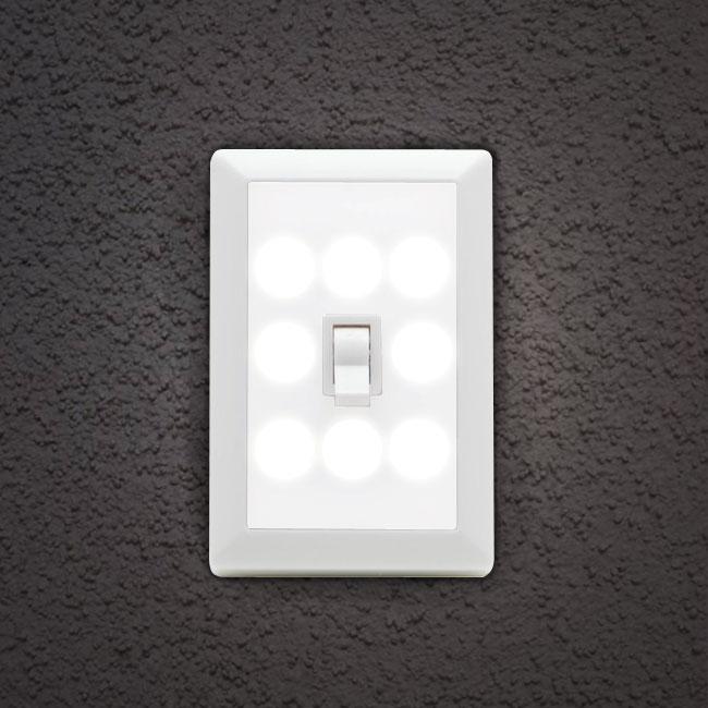 Wireless 8 LED Light-Switch Ni...