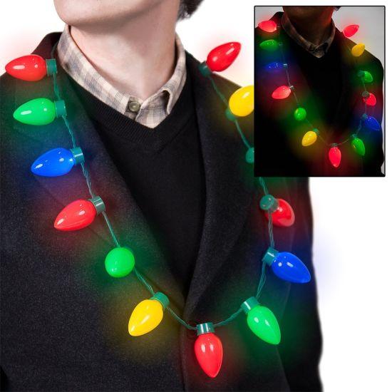 Retro Light Up Christmas Bulb.